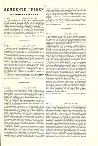 Handelingen van de Raad 1947-05-30