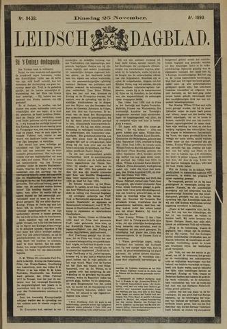Leidsch Dagblad 1890-11-25