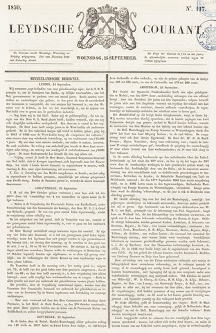 Leydse Courant 1850-09-25