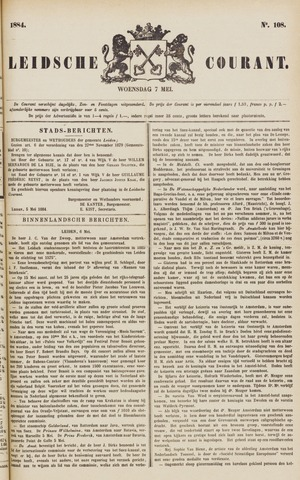 Leydse Courant 1884-05-07