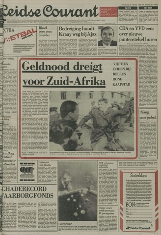 Leidse Courant 1985-08-29