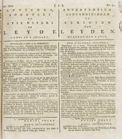 Leydse Courant 1812-07-06