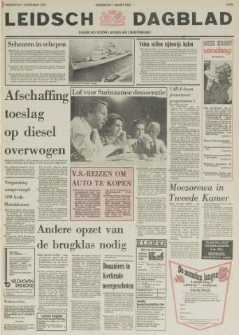 Leidsch Dagblad 1978-11-01