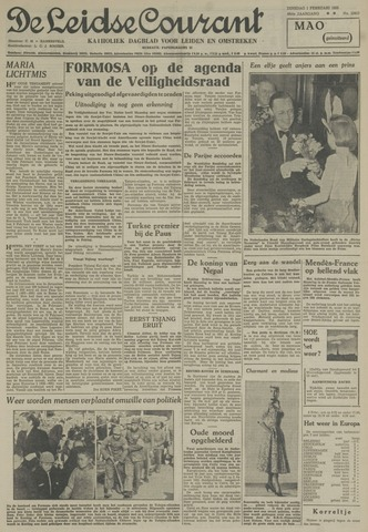 Leidse Courant 1955-02-01