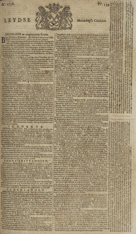 Leydse Courant 1758-11-20