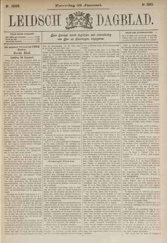 Leidsch Dagblad 1893-01-21