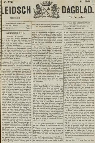 Leidsch Dagblad 1868-12-28