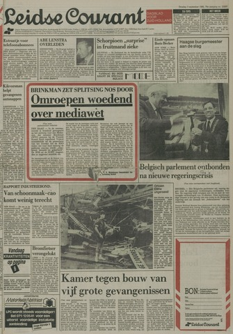 Leidse Courant 1985-09-03