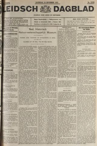 Leidsch Dagblad 1933-11-18