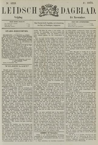Leidsch Dagblad 1873-11-14