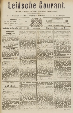 Leydse Courant 1887-11-24