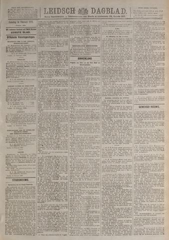 Leidsch Dagblad 1920-02-14