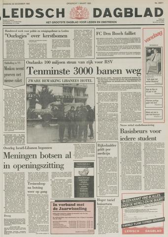 Leidsch Dagblad 1982-12-28