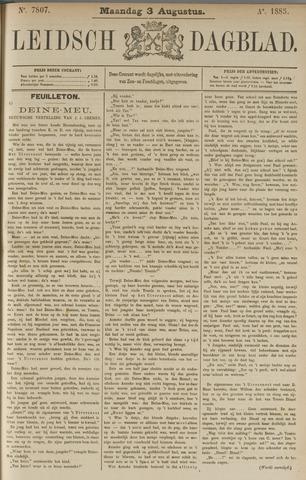 Leidsch Dagblad 1885-08-03