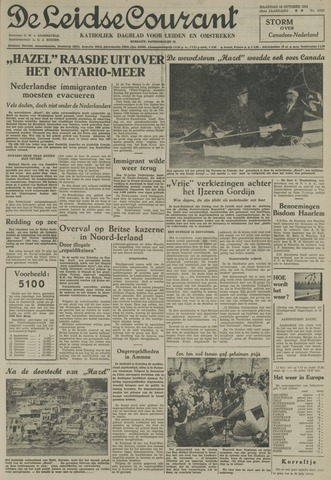 Leidse Courant 1954-10-18