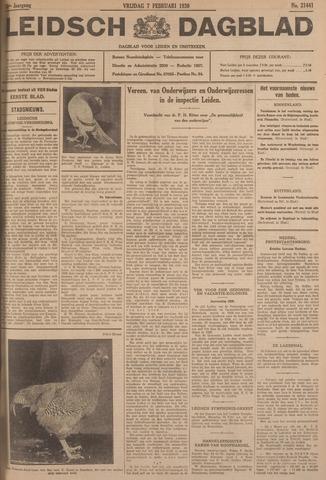 Leidsch Dagblad 1930-02-07