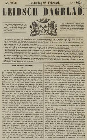 Leidsch Dagblad 1867-02-28
