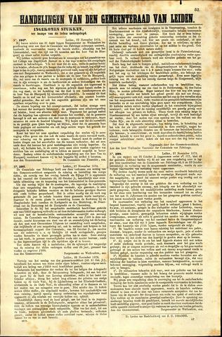 Handelingen van de Raad 1873-11-27