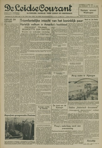 Leidse Courant 1952-04-03