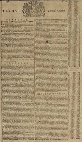 Leydse Courant 1758-01-13