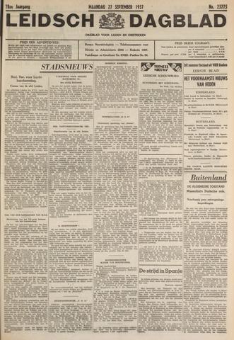 Leidsch Dagblad 1937-09-27