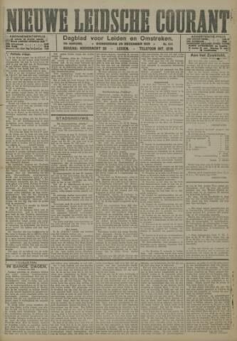 Nieuwe Leidsche Courant 1921-12-29