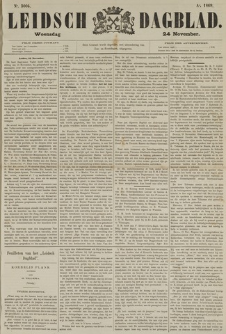Leidsch Dagblad 1869-11-24