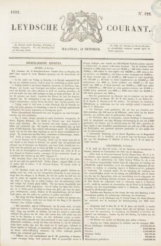 Leydse Courant 1852-10-11