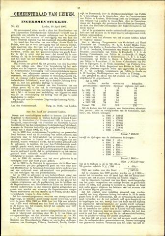 Handelingen van de Raad 1907-04-10