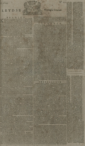Leydse Courant 1743-10-11