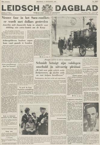 Leidsch Dagblad 1956-09-17