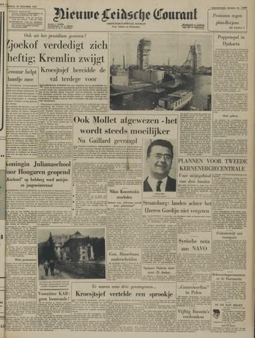 Nieuwe Leidsche Courant 1957-10-29