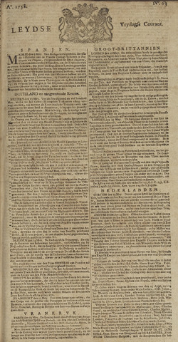 Leydse Courant 1758-05-26