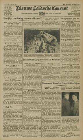 Nieuwe Leidsche Courant 1947-04-28