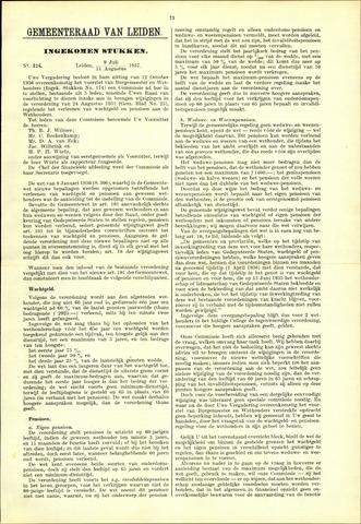 Handelingen van de Raad 1937-07-09