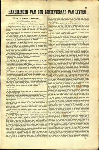 Handelingen van de Raad 1867-06-11