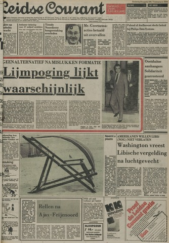 Leidse Courant 1981-08-20