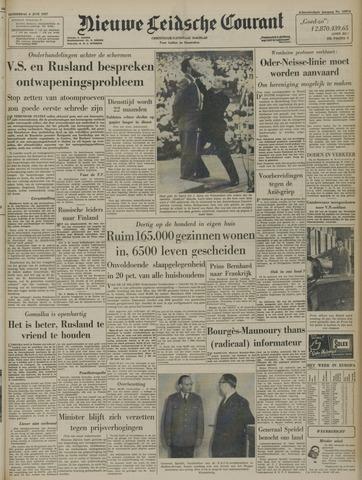 Nieuwe Leidsche Courant 1957-06-06