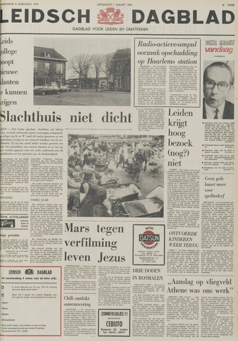 Leidsch Dagblad 1973-08-08