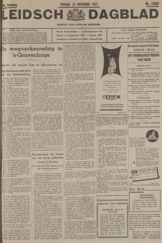 Leidsch Dagblad 1937-11-26