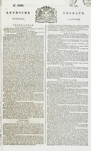 Leydse Courant 1838-01-31
