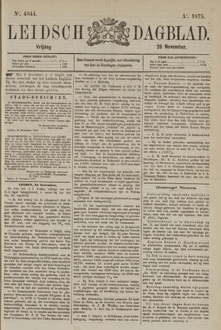 Leidsch Dagblad 1875-11-26