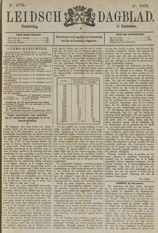 Leidsch Dagblad 1878-12-12