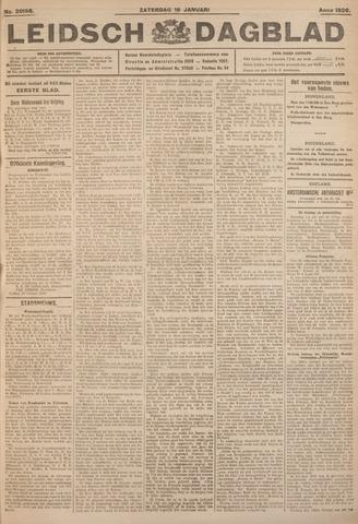 Leidsch Dagblad 1926-01-16