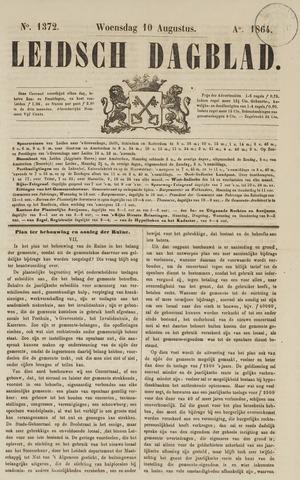 Leidsch Dagblad 1864-08-10