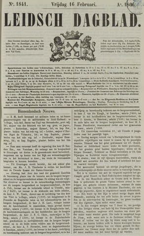 Leidsch Dagblad 1866-02-16