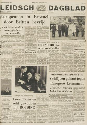 Leidsch Dagblad 1962-12-11
