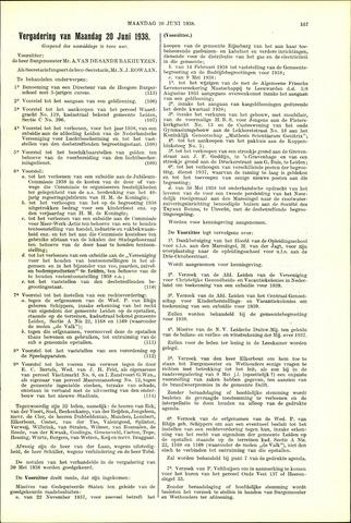 Handelingen van de Raad 1938-06-20