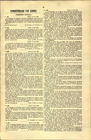 Handelingen van de Raad 1885-06-13