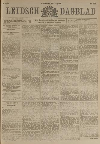 Leidsch Dagblad 1907-04-30